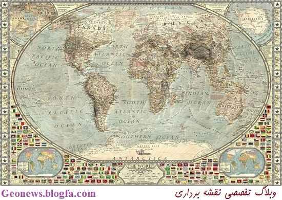 نقشه های قدیمی و باستانی