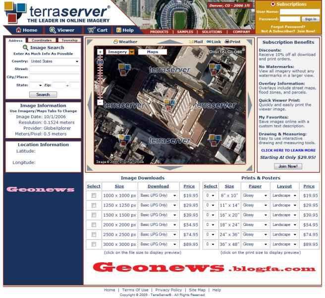 Google Earth+تصاویر هوایی+عکس های سنجش از دوری+تصاویر ماهواره ای با قدرت تفکیک بالا